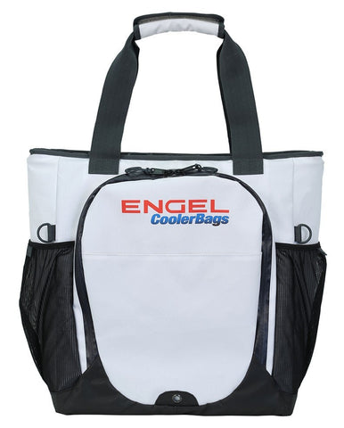 Engel Soft Sided Backpack Cooler White