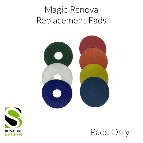 "BONASTRE 5"" MAGIC RENOVA Abrasives & Pad Replacement"