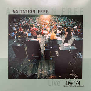 Agitation Free - Live '74 LP