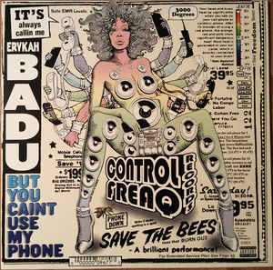 Erykah Badu - But You Caint Use My Phone LP