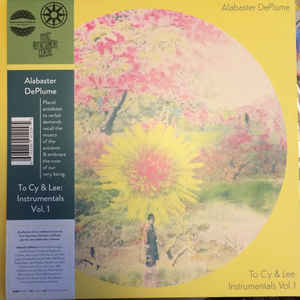 Alabaster DePlume - To Cy & Lee: Instrumentals Vol. 1 LP