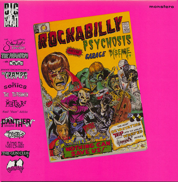 Various - Rockabilly Psychosis & The Garage Disease LP