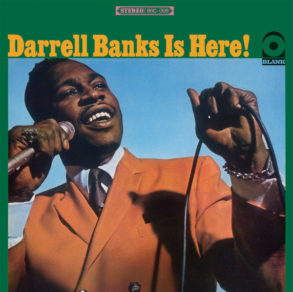 Darrell Banks - Here To Stay LP