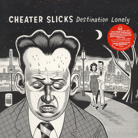 Cheater Slicks - Destination Lonely LP (WAREHOUSE FIND! A BARGAIN!!)