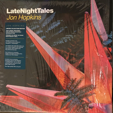 Jon Hopkins - Late Night Tales 2LP