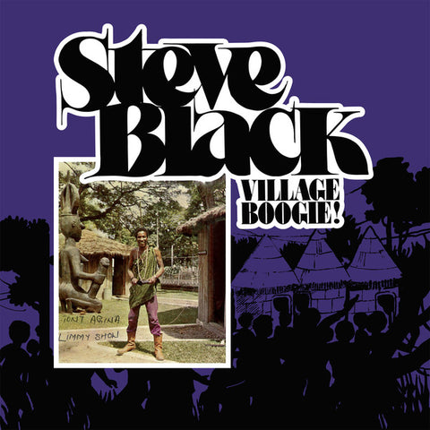 Steve Black - Village Boogie! LP