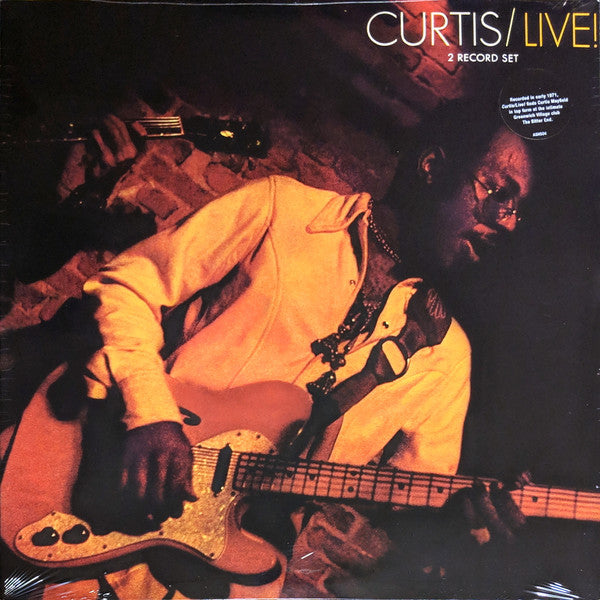 Curtis Mayfield - Curtis Live! 2LP