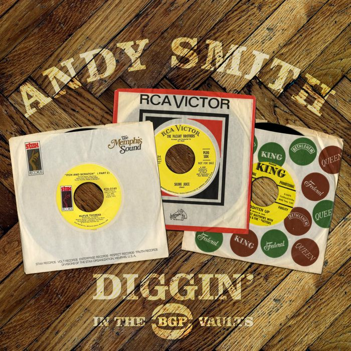Various - Andy Smith's Diggin' In The BGP Vaults 2LP