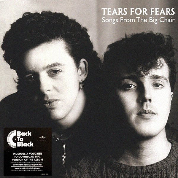 Tears For Fears - Songs From The Big Chair LP