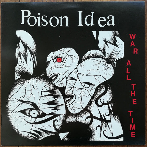Poison Idea - War All The Time LP