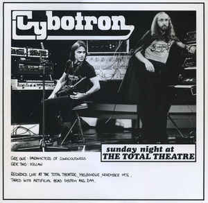 Cybotron - Sunday Night at the Total Theatre LP