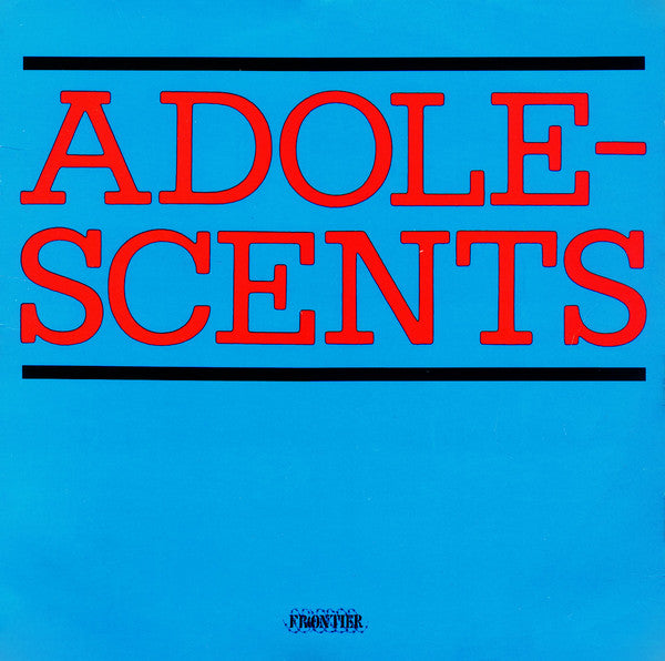 Adolescents - S/T LP