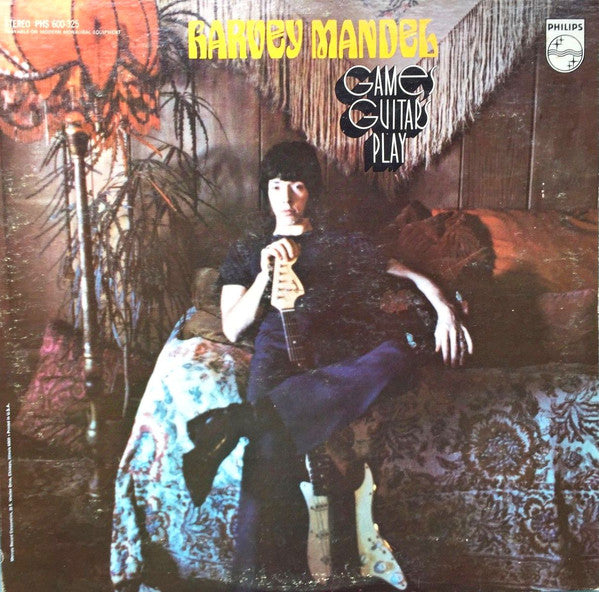 Harvey Mandel - Games Guitars Play LP
