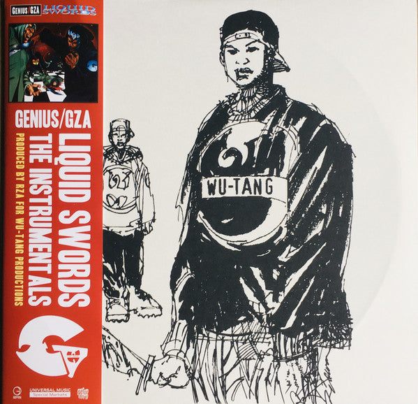Genius/GZA - Liquid Swords: The Instrumentals 2LP