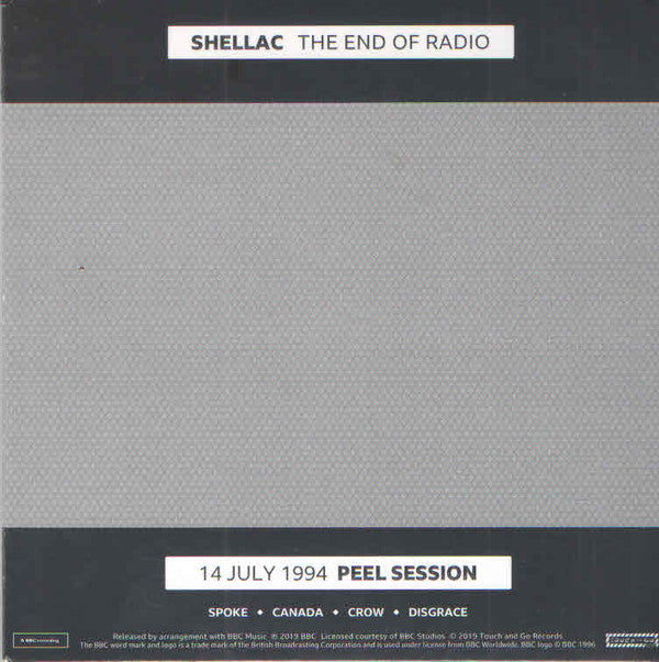 Shellac - The End Of Radio (1994 Peel Sessions) 2LP