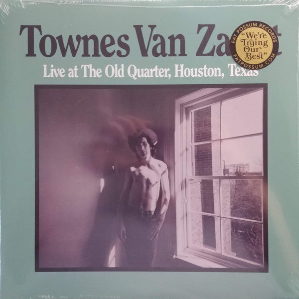 Townes Van Zandt - Live At The Old Quarter, Houston, Texas 2LP