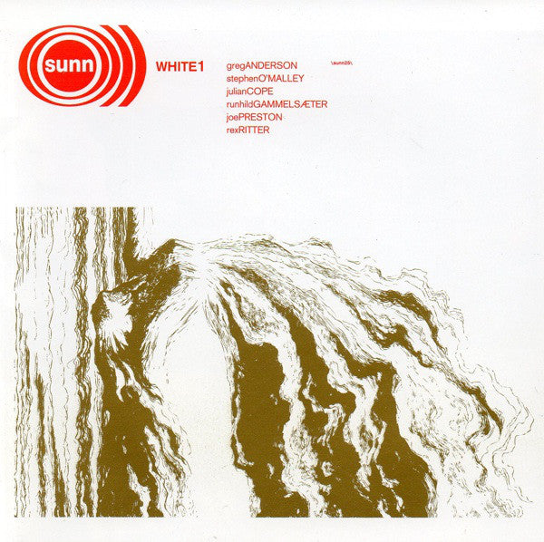 Sunn O))) - White 1 2LP