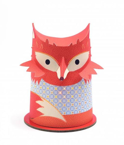 Djeco Paper Cut Night Light Fox