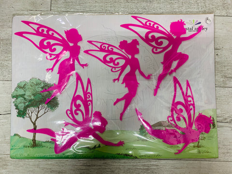 Crystal Ashley Wall Decals - Fairies