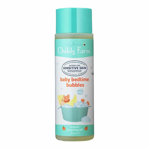 Childs Farm Baby Bedtime Bubbles Organic Tangerine