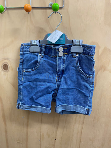 PRE-LOVED Minti High Shorts Size 6