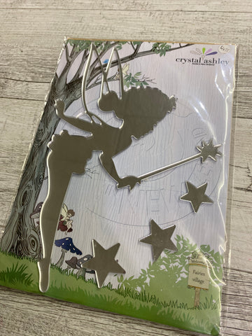 Crystal Ashley 3D Sticker - Fairies