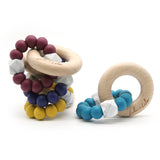 LOTTI ~ silicone + beechwood teether