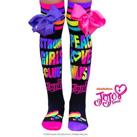 Madmia PEACE LOVE MUSIC JOJO DANCE SOCKS