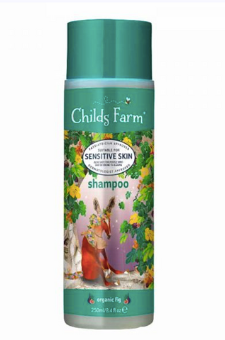 Childs Farm shampoo organic fig