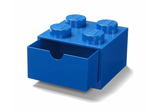 Lego Desk Drawer 4 Knob Blue