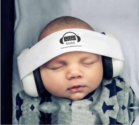 Ems 4 bubs ear muffs White