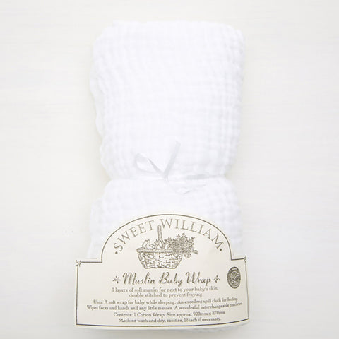 Sweet William Muslin Wrap
