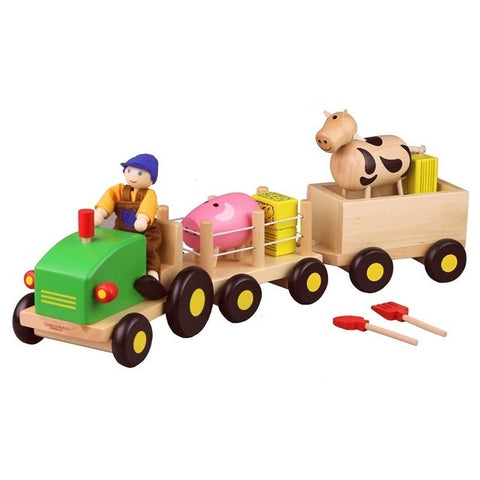 Discoveroo Wooden Farm Playset