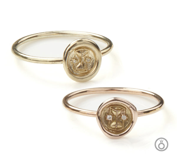 Petites Symbol Stacking Rings