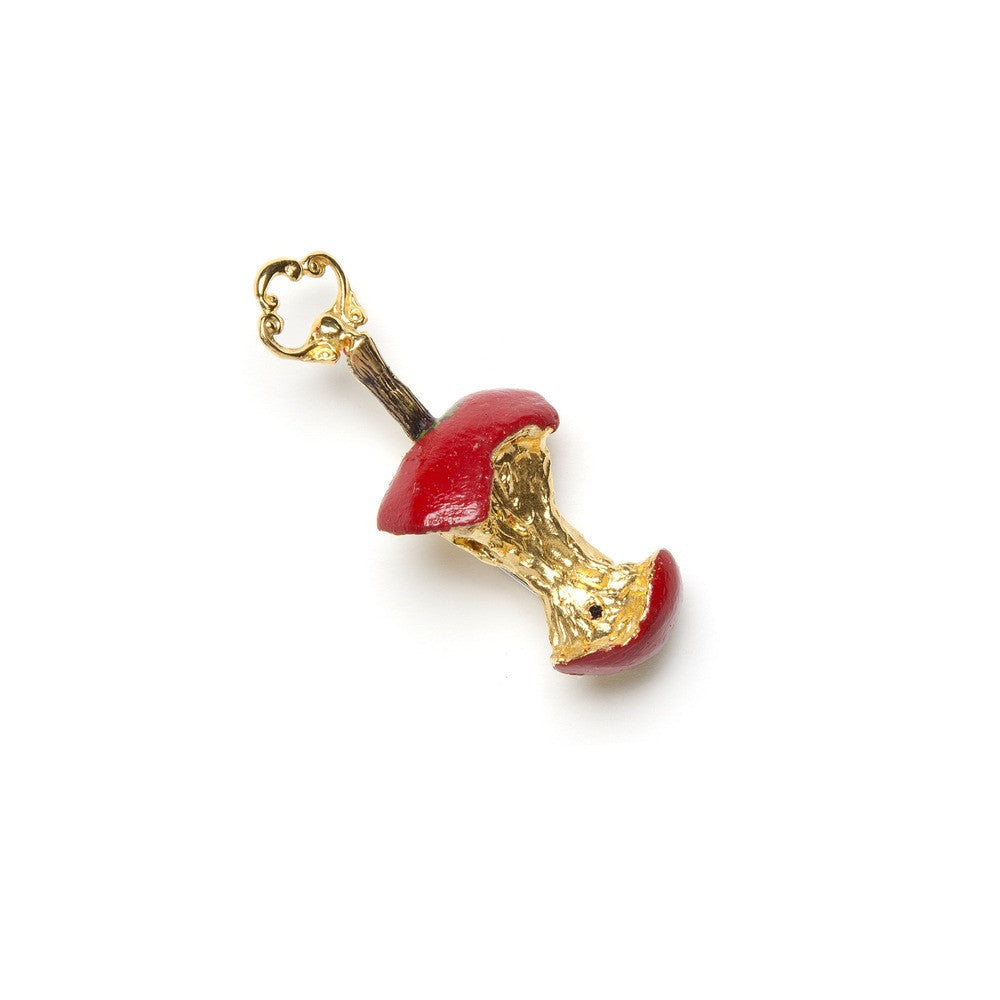 Red Relished Apple Brooch
