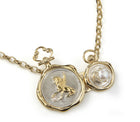 Double Wax Seal Hair Accessory / Necklace