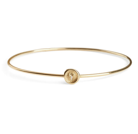 Petites Lock of Love Wax Seal Bangle