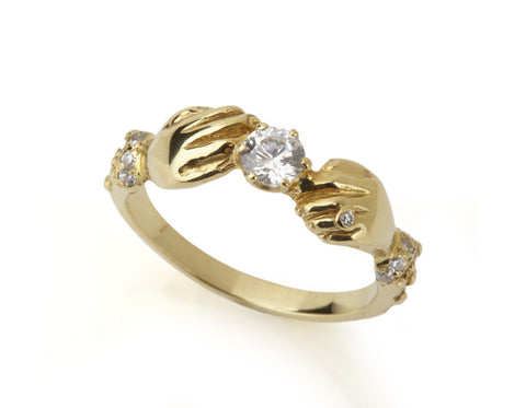 Promise Ring with Diamonds