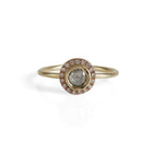 Luxe Petites Two-Tone Diamond Ring