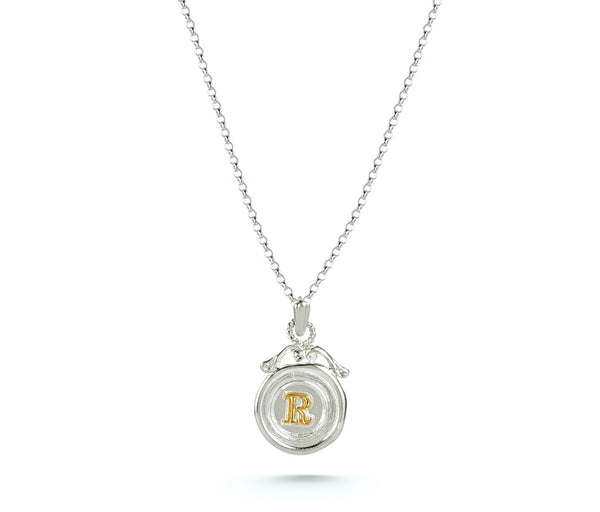 Mini Personalised Wax Seal Necklace