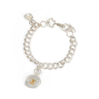 Mini Personalised Wax Seal Chain Bracelet