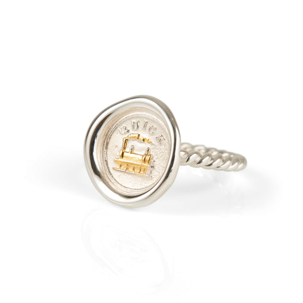 *SOLD OUT* JdL x Little Women - 'Quick' Mini Wax Seal Ring