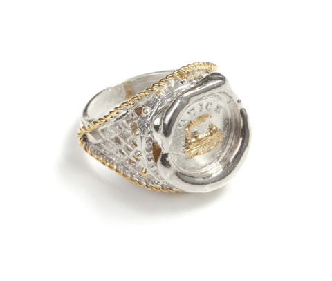 19th c. Mini Signet Style Seal Ring