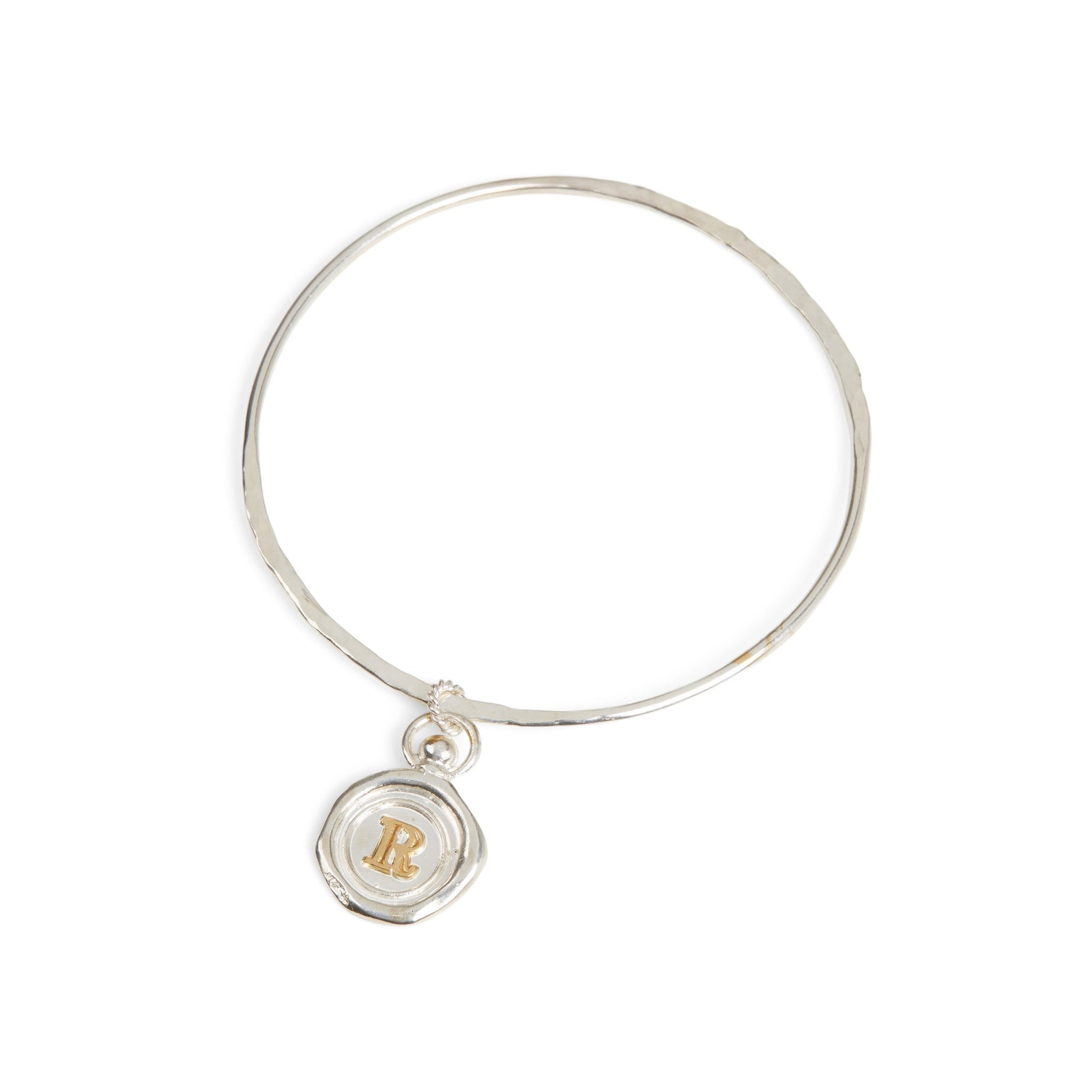 Mini Personalised Wax Seal Bangle