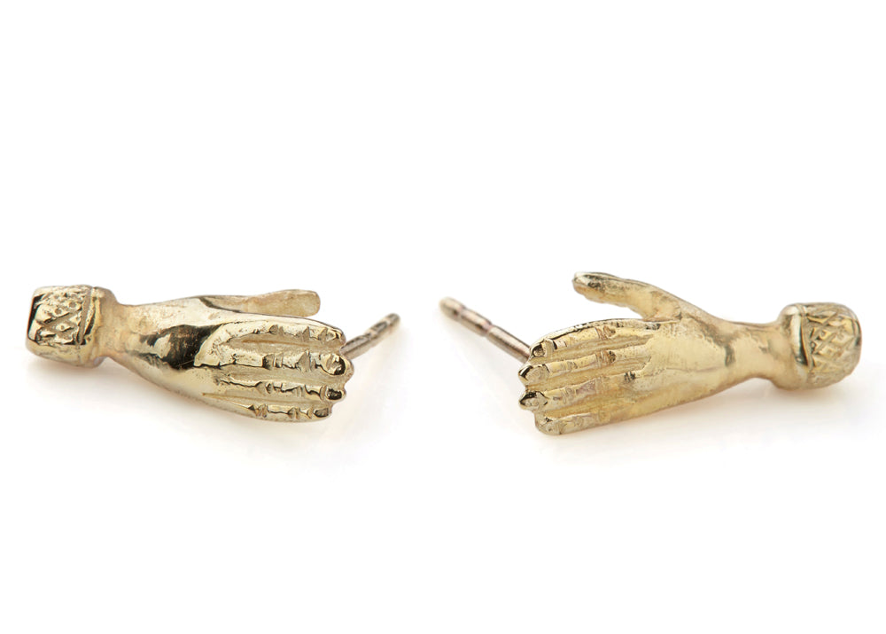 Holding Hands Studs (Pair)