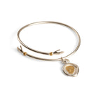 Hug Bangle with Charm