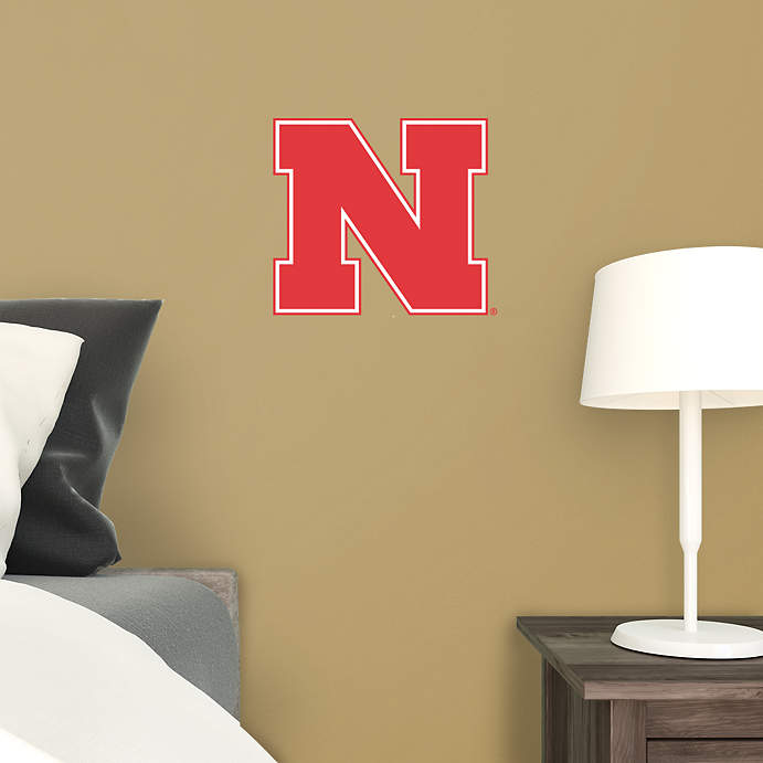 "Nebraska ""N"" Wall Cling"