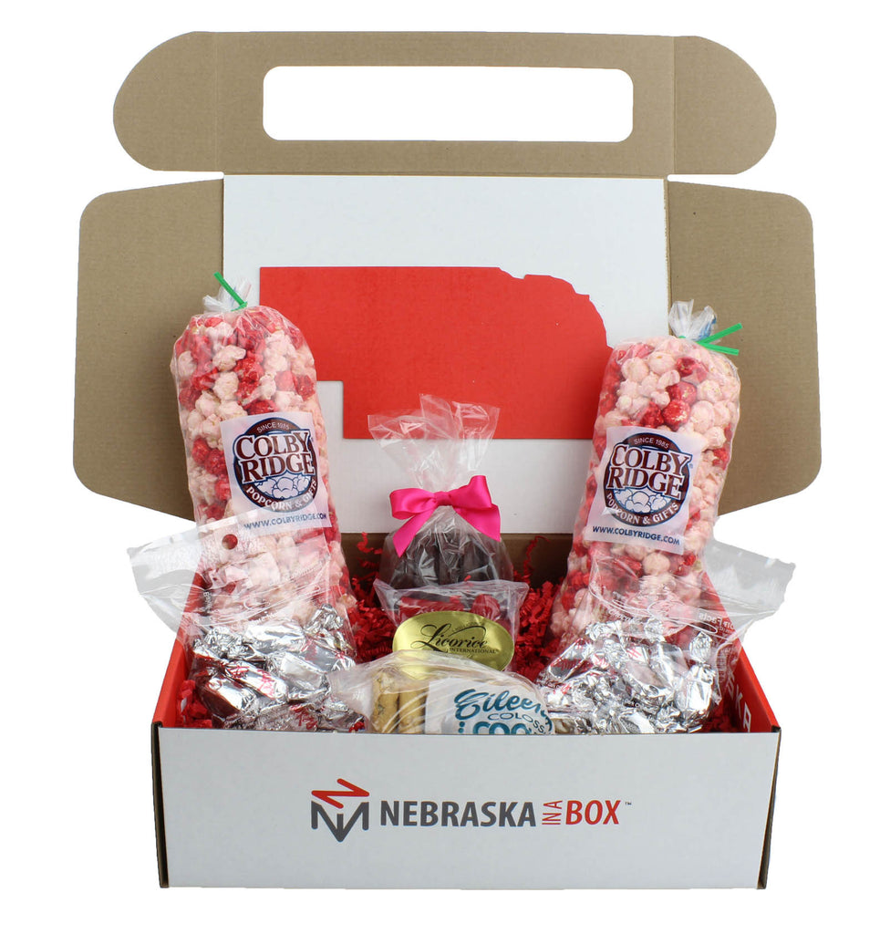 Valentine's Day Nebraska Box