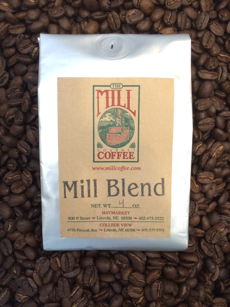 "The Mill Coffee ""Mill Blend"" & ""Nebraska Blend"""