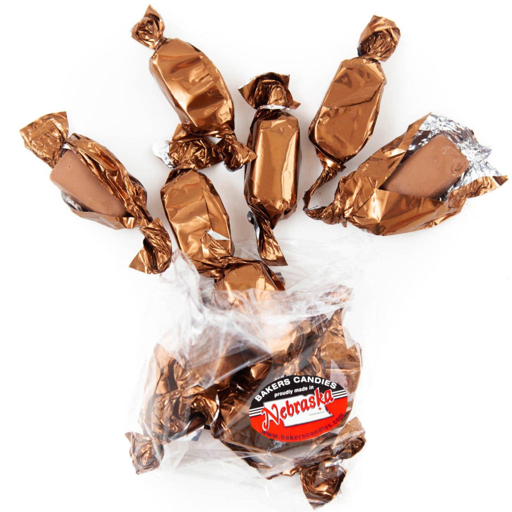 Bakers Candies Peanut Butter Cup Meltaway Chocolates